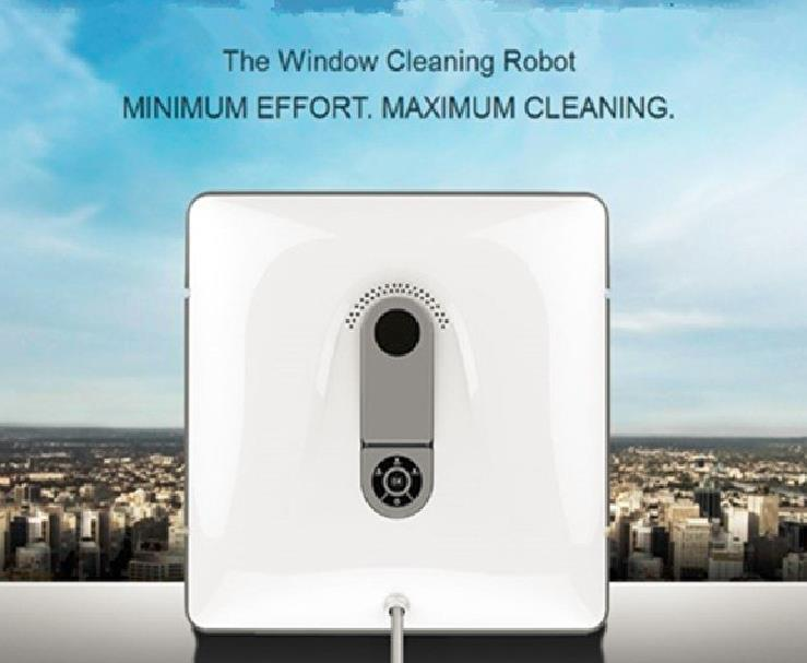 Newest Auto Clean Anti-Falling Smart Window Glass Clean Robot Window Cleaner with Remote Control remote control wet and dry function auto clean anti falling magnetic electric window cleaner robot