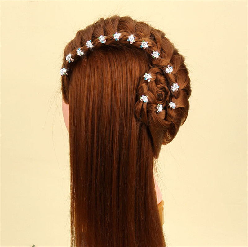 Special Offer New Trendy Mini Korean Girl Child Hair Ornaments Flower Sweet Hairpin Baby Clip Children Headwear Kids 5pcs ...