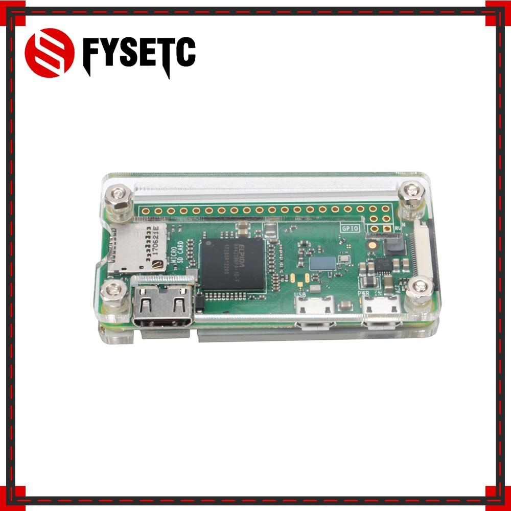 Raspberry Pi Zero W Case Acrylic Box Transparent Box Enclosure Shell Compatible Raspberry Pi Zero W Pi Zero Pi 0
