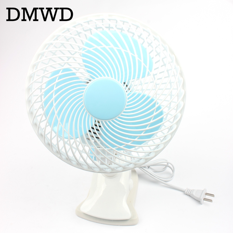 dmwd 2 gears clip fan table wall mounted fan bed portable student mute cooler in fans from home. Black Bedroom Furniture Sets. Home Design Ideas