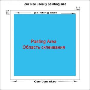 Image 2 - Peinture en diamant rond 5d carré bricolage