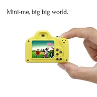 1.5 Inch 2MP 1080P Mini LSR Cam Digital Camera Cute for Kids Baby Cartoon Multifunction Toy Camera Children Birthday Best Gift