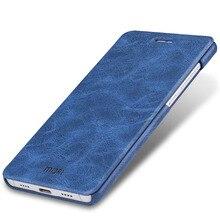 Xiao Mi 5 чехол Xiaomi Mi 5 Чехол Filp случае искусственная кожа MOFI оригинальный линии темно-синий коричневый Xiaomi 5 Coque Капа принципиально 5.15″