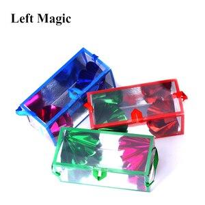 Image 3 - Mini Dream Bag/Verschijnen Bloem Doos (13*6.2*6.2Cm) goocheltrucs Super Delux Zak Verschijnen Bloem Lege Box Magic Props