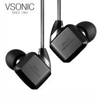 VSONIC NEW GR07 BASS Dynamic Noise Isolation HIFI In Ear Earphones