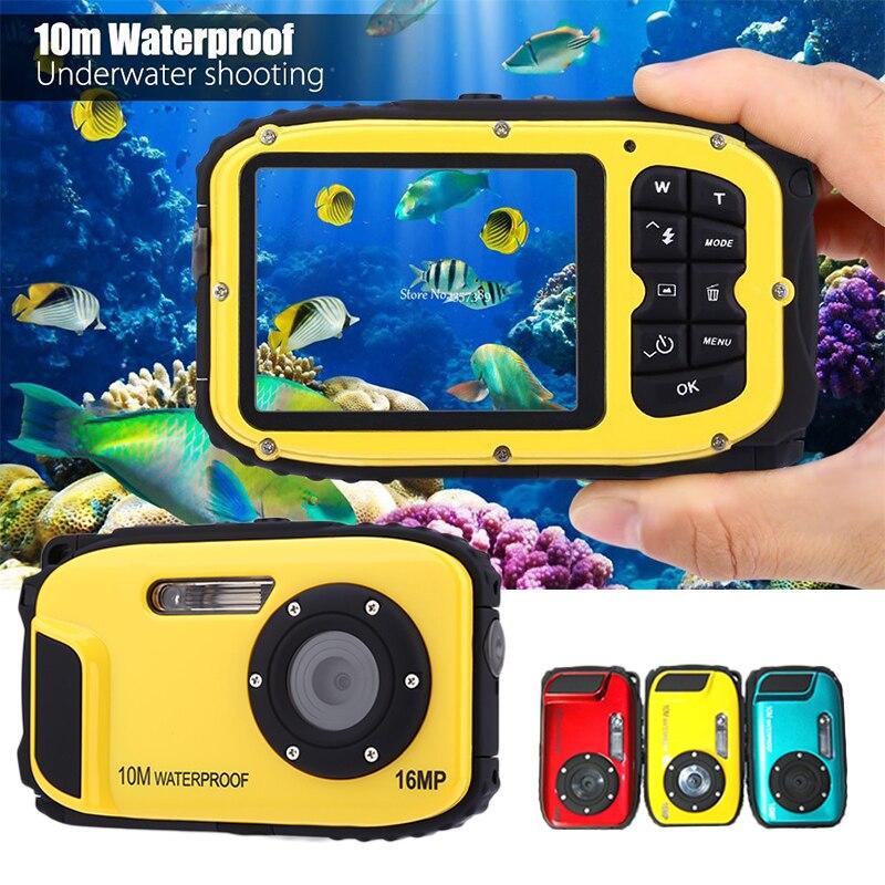 Portable précis HD caméra numérique DV étanche caméra Stable 2.7