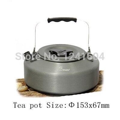 acampamento ao ar livre panelas frigideira caldeirao tea pot fmc 204 720g