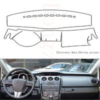 Fit For Mazda CX 7 2010 2016 Car Dashboard Cover Avoid Light Pad Instrument Platform Dash