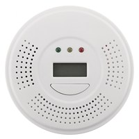 Safurance Audio Carbon Monoxide Detector CO Gas Alarm Warning Sensor Monitor Home Kitchen Security Safety