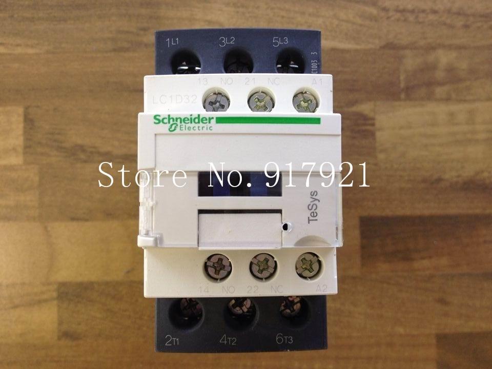 [ZOB] Tesys original LC1D32-M7C 220V 8C1003 genuine original contactor  --2pcs/lot new lp2k series contactor lp2k06015 lp2k06015md lp2 k06015md 220v dc