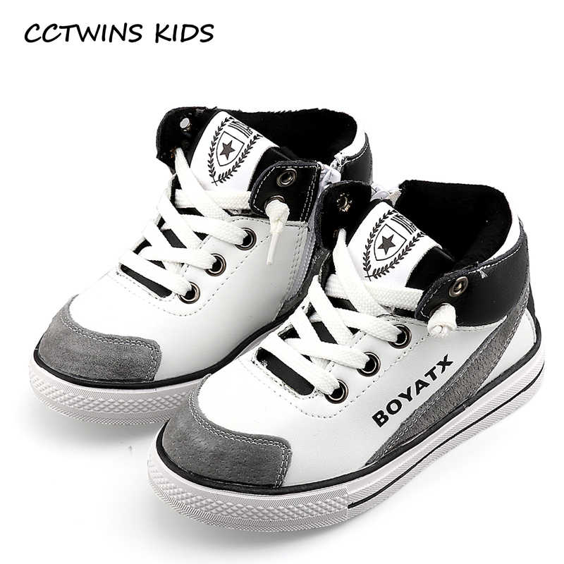 74fe1218 Cctwins дети осень-зима мальчиков модные высокие кроссовки для маленьких  девочек обувь из натуральной кожи