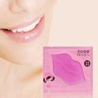 5pcs Lip Plumper Crystal Collagen Lip Mask Pads Moisture Essence Anti Ageing Wrinkle Patch Pad Gel Lips Lip Enhancer
