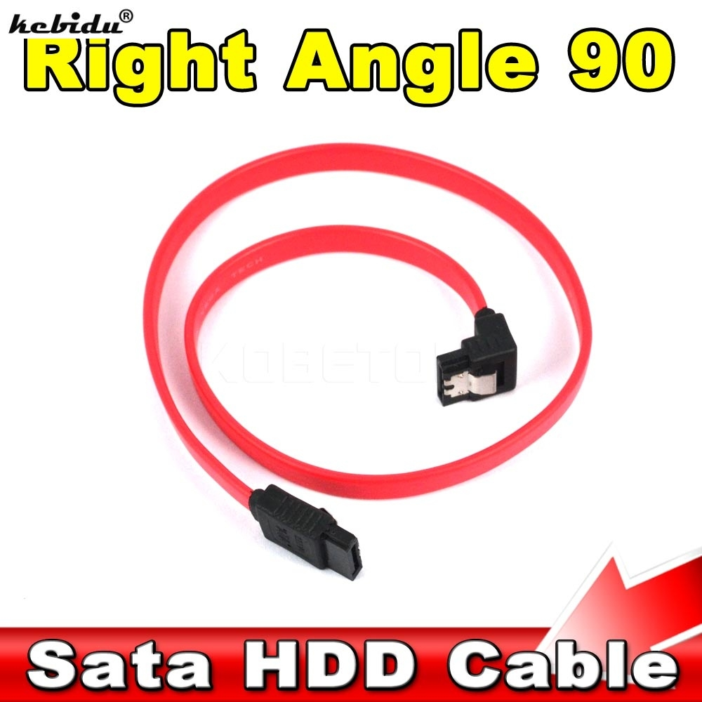 """18/"""" Serial ATA SATA Straight to Straight DATA HDD Hard Drive Cable-45CM 2-Pack"""