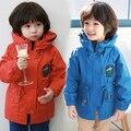 Бесплатная Доставка НОВАЯ мода причинно осень и зима детская одежда ребенка мультфильм верхняя одежда пальто для мальчиков и девочек
