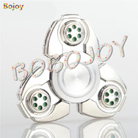 Hand Spinner Fidgets Toy Aluminum Sensory Fidget Spinner Metal For Autism And ADHD Kids Adult Anti