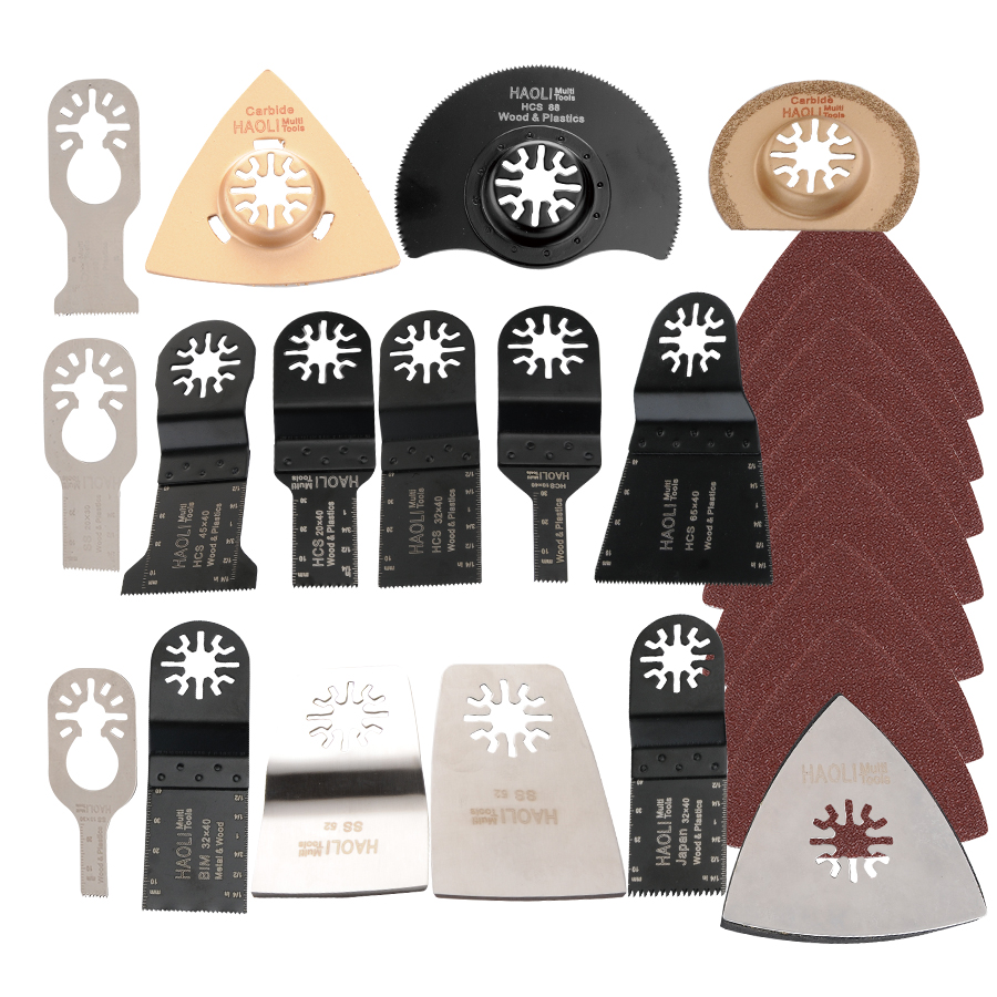 цены  41 pcs/set oscillating tool Saw Blades Accessories fit for Multimaster power tools as Fein, Dremel etc, FREE SHIPPING