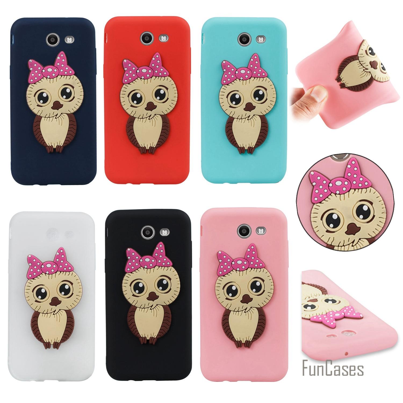 Cartoon Animal Case sFor Celular Samsung J3 2017 US version Soft Silicone Phone Case Back Telefon Samsung Galaxy J327 US version