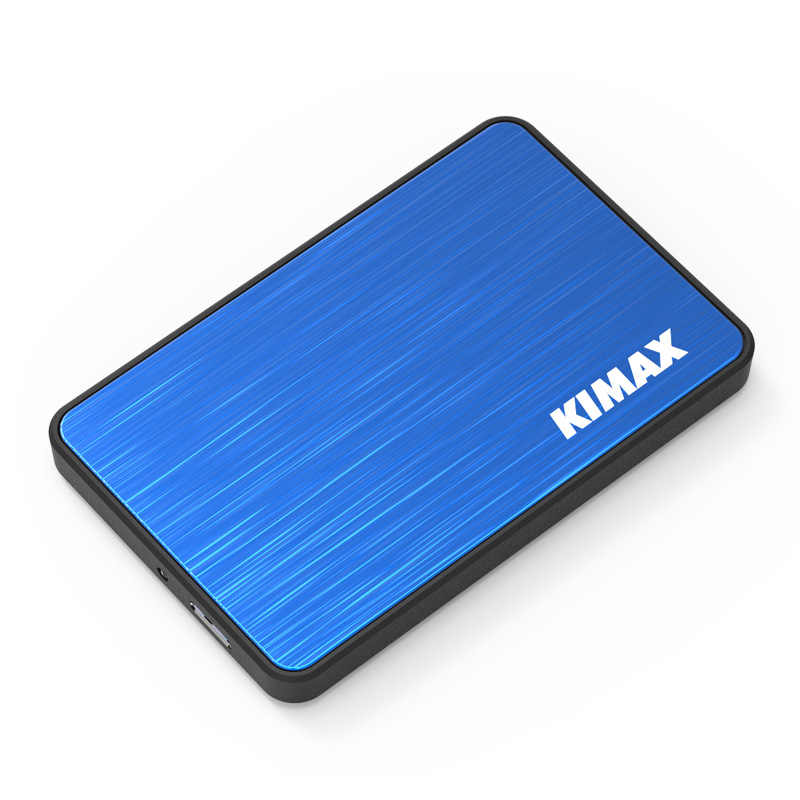 Blueendless 3 色 hdd 2.5 インチケースエンクロージャプラスチック高速ドックステーション USB Sata 外部ストレージキャディーボックスラップトップ & 30