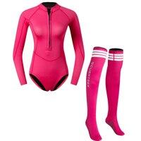 Цельный водолазный костюм гидрокостюм серфинг плавание с гольфы