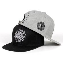 High quality Fashion Harajuku Men Womens Casual hat Snapbacks Black grey eye emb