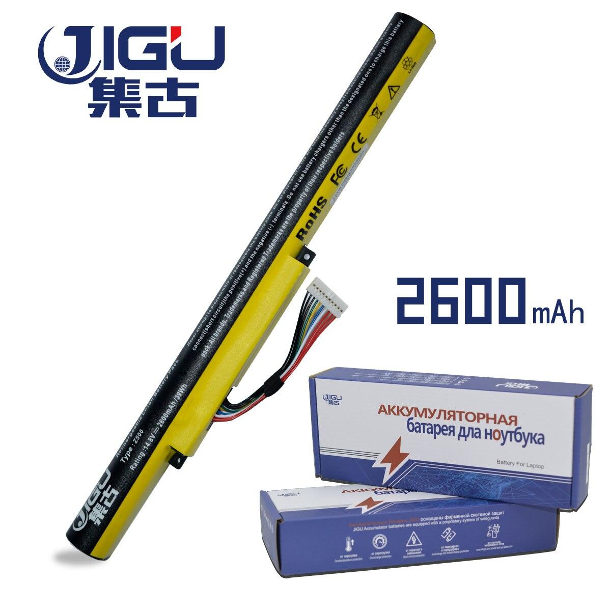 Jigu 2600 мАч ноутбука Батарея L12S4E21 L12M4E21 L12M4K01 L12S4K01 для <font><b>Lenovo</b></font> IdeaPad Z400 Z400S Z400A Z400T <font><b>Z510</b></font> Z510A Z500 Z500A