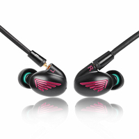 Newest LZ A5 4BA With 1 DD Hybrid 5 Unit In Ear Earphone Balanced With Dynamic