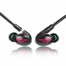 Newest LZ A5 4BA with 1 DD Hybrid 5 Unit In Ear Earphone Balanced With Dynamic