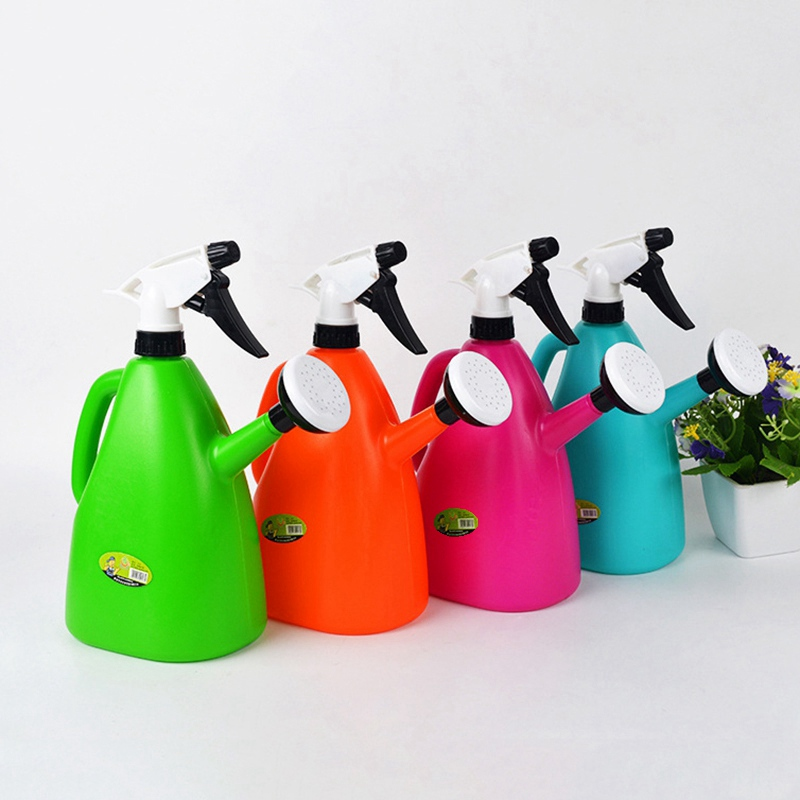 Hot sale plastic watering cans gardening tools garden for Gardening tools watering