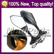 2X Carbon Turn Signal Mirrors For HONDA VFR400RR NC35 94-98 VFR400 RR VFR 400RR 1994 1995 1996 1997 1998 Rearview Side Mirror