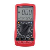 UNIT Digital Multimeter DC/AC Voltage Current Meter Handheld Ammeter Ohm Diode Capacitance Tester 1999 Counts Multitester UT58C