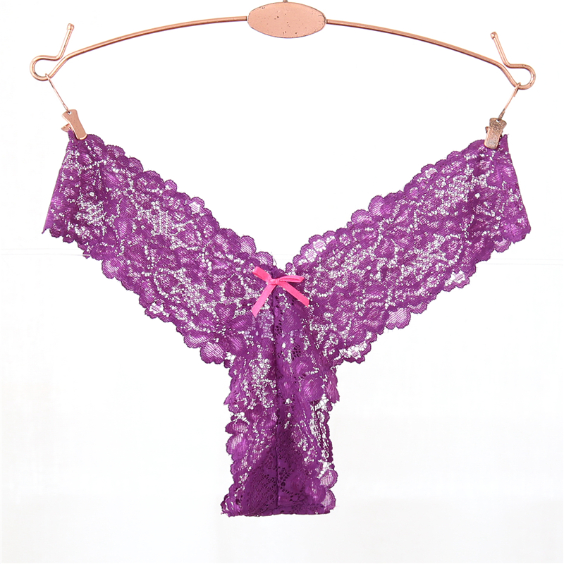 Full Lace Super Sexy Women G String Transparent Underwear Fashion Panties Ladies Thongs