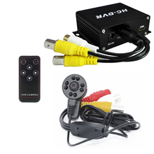 Mini Camera Kit Video Recorder DVR with Mini Camera Support 5 kinds of resolution and loop recording methods and Duoble TF Card