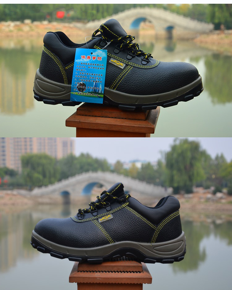Steel Toe Cap Work Safety Shoes Men Women Breathable Nonslip Labor Working Boots Solid Bottom Puncture Proof Protective Footwear (16)