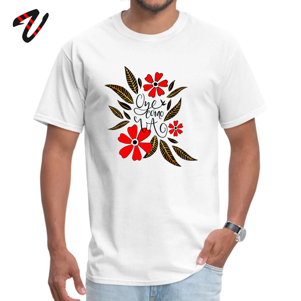 Oye cmo va Crew Neck T-Shirt Mother Day Tops & Tees Short Sleeve Graphic Cotton Normal Tops Shirt Fitness Tight Student Oye cmo va 4256 white