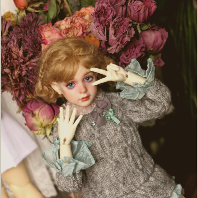 Free Shipping BJD Dolls Dollshe Rosa Classic 1/4 6G Pretty Innocent High Quality Resin Girl Toys Best Gift DS Oueneifs  3