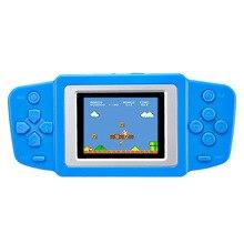"""2.5 """"Ультра-Тонкий Портативный Игры Игрока 268 8 бит NES Классические Игры геймпад детская игра-Головоломка видео игры консоли"""