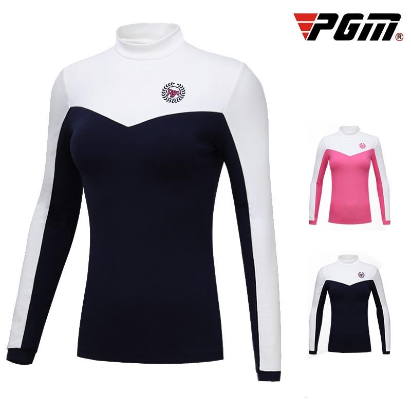 PGM Golf dame manches longues velours sous-vêtement thermique dames chemise de fond nouveau Style de l'automne hiver