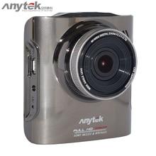 Anytek A3 Rey de La Visión Nocturna de La Cámara DVR Cam Dash con Novatek 96655 CPU IMX322 Sensor de 2.4 pulgadas FHD 1080 P Gran Angular Negro caja