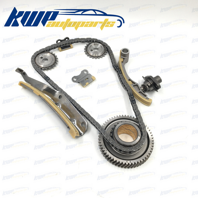 US $118 17 35% OFF|Engine Timing Chain Kit For MITSUBISHI 3 0 TD 16V (2000  ) 4M42-in Timing Components from Automobiles & Motorcycles on