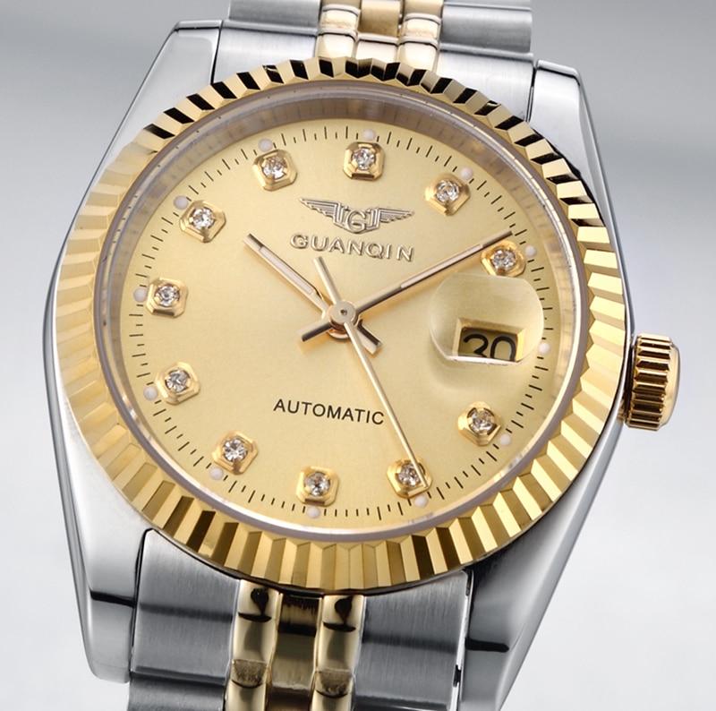 wristwatch mens gold