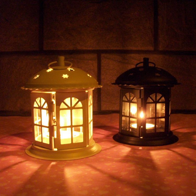 Vintage Lantern Sconce Candlestick Candle Holder For ...