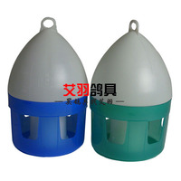 Chim bồ câu Chim Bồ Câu Feeder Uống Bát Nhựa Xanh Xanh 3L 4L