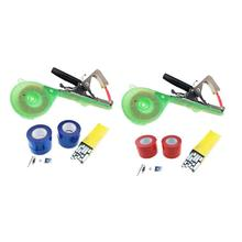 Ленточный инструмент для связывания ногтей, машина для завязывания садовых растений, набор лент для обрезки овощей