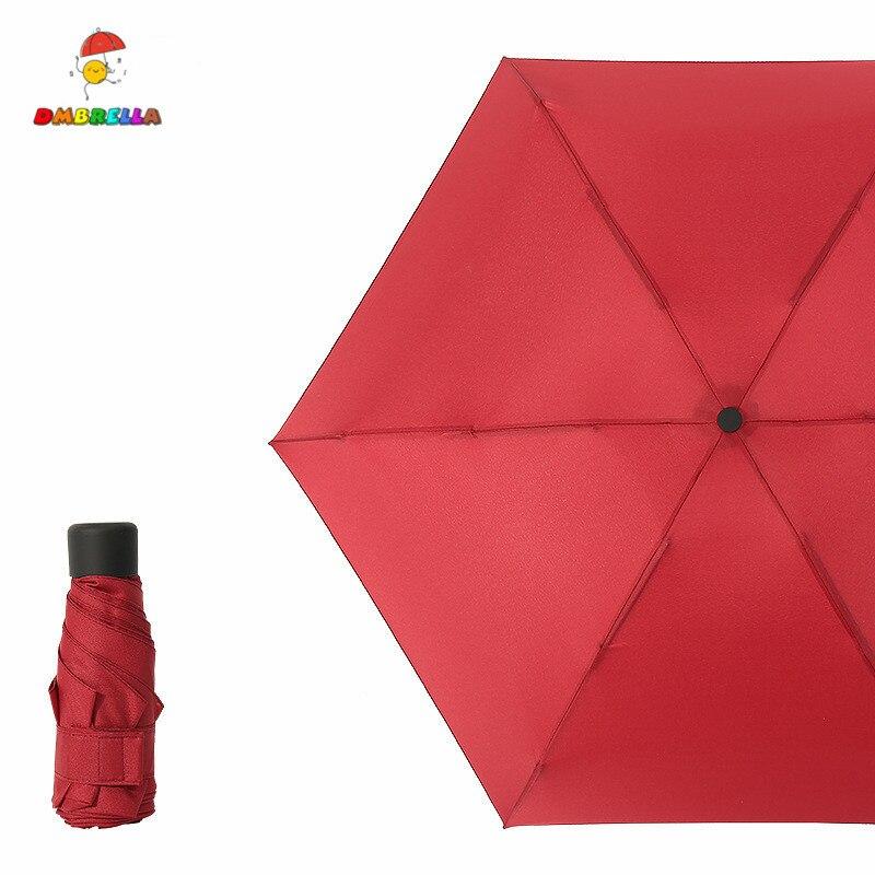 DMBRELLA Mini Pocket Umbrella Rain Women Small Windproof Folding Umbrellas Travel Compact Mens DM001