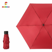 DMBRELLA Mini Pocket Umbrella Rain Women Small Windproof Folding Umbrellas Travel Compact Mens DM001