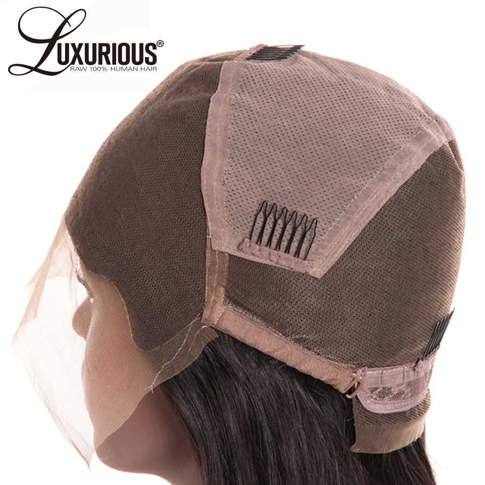 Кудрявые прямые 150% Плотность полные кружевные человеческие волосы парики с волосами младенца бразильские человеческие волосы парик предварительно выщипанные волосы remy волосы