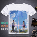 Your Name T shirt Anime Cosplay T-Shirt Fashion Men WOMEN New Short Sleeve Tees
