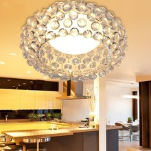 Modern Glass Ceiling Lights Indoor Light luminaria abajur Modern Ceiling Lamps For Living Room Home Decoration Lighting