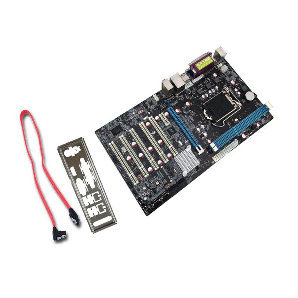 High Performance H61 DVR Industrial Control Board Professional Motherboard Portable Security Monitoring Mainboard