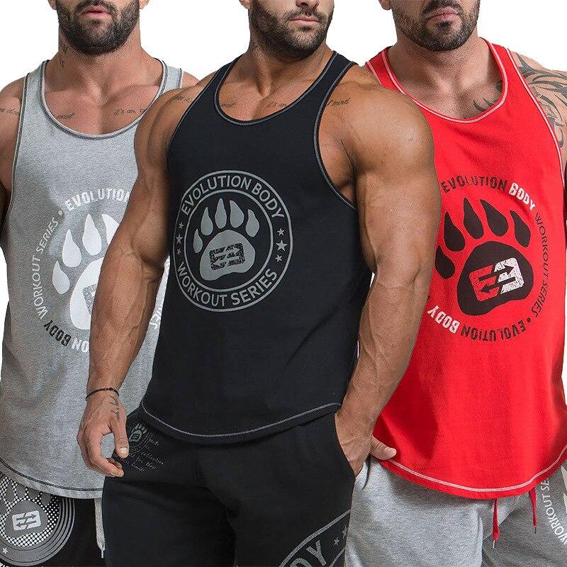 Men/'s Volunteer Firefighter Stringer Bodybuilding Muscle US Gym Workout Tank Top